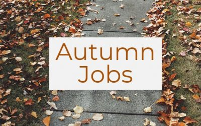 Jobs for the Autumn