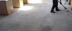 School laboratory flooring