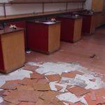 science laboratory flooring