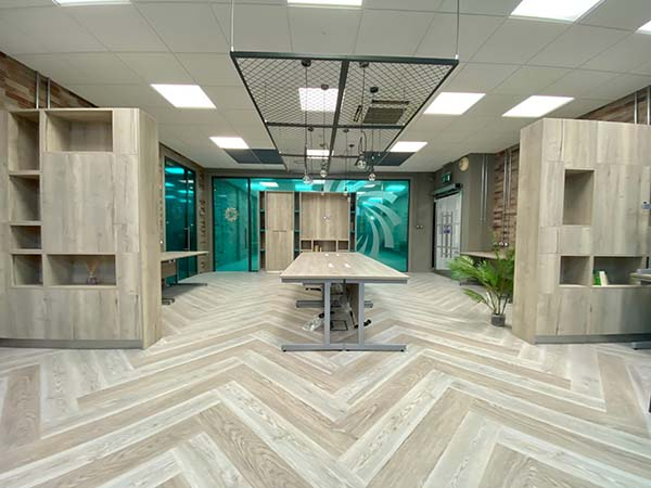 office fit-out and alteration works at LCETB