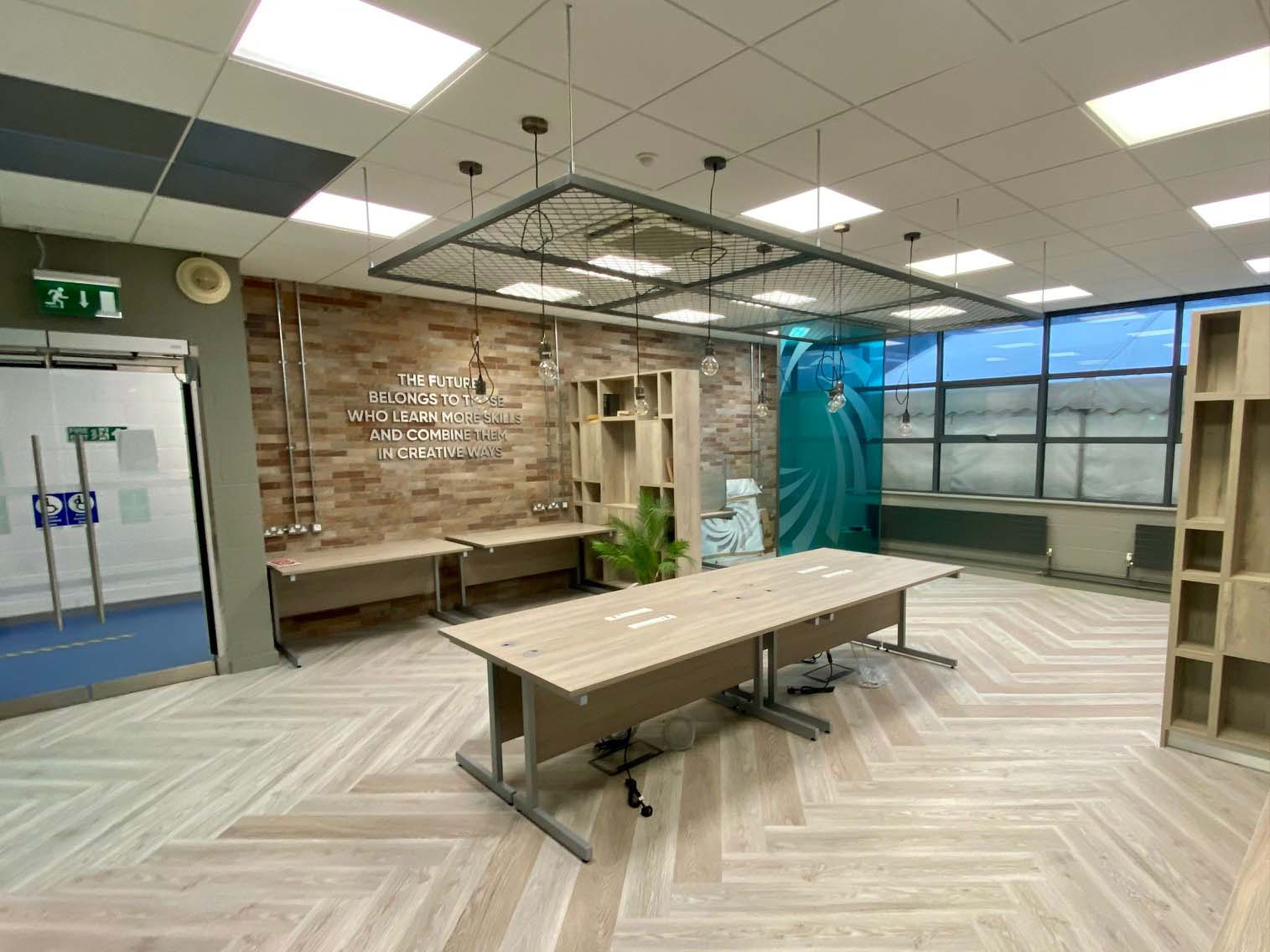 office alteration works at Raheen Business Park