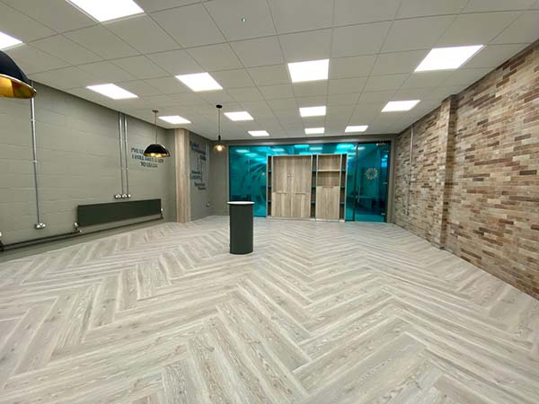 office alteration works by Western Properties